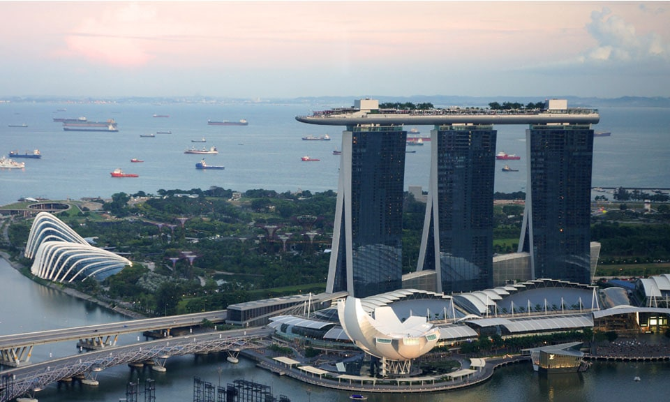 A Visit To The Top Of The Marina Bay Sands Singapore Breathing Travel