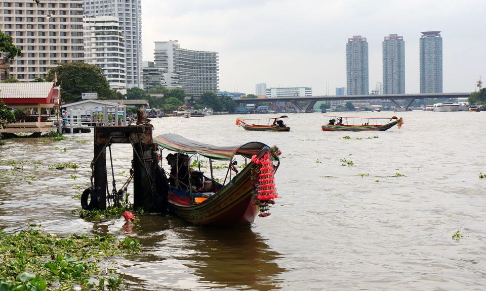 Cruising the Chao Praya River is one of the best things to do in Bangkok