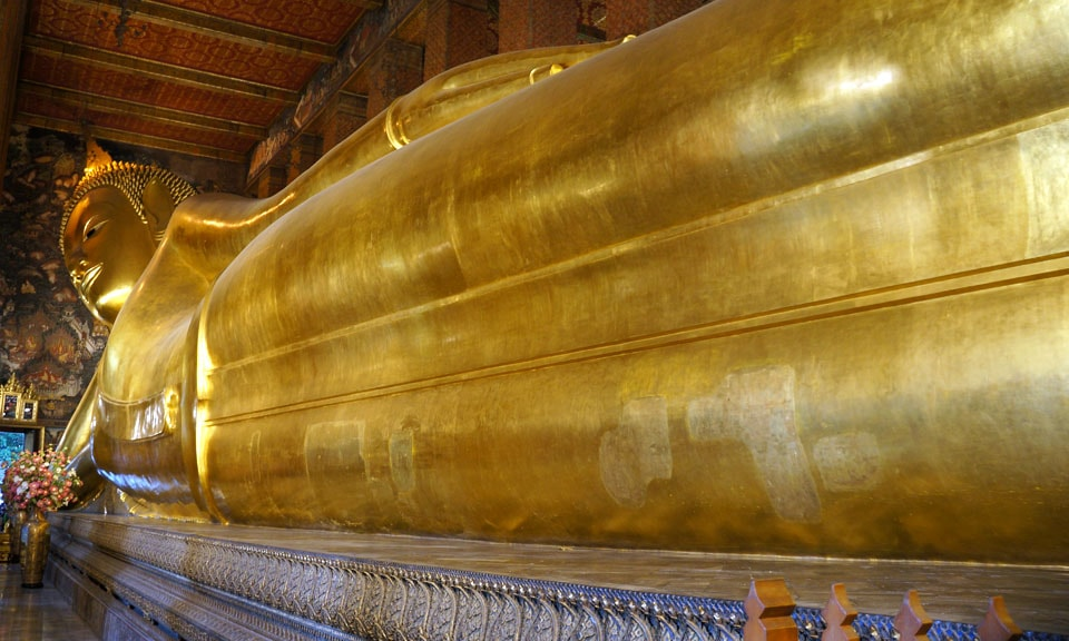 Wat Pho, one of the many attractions in Bangkok