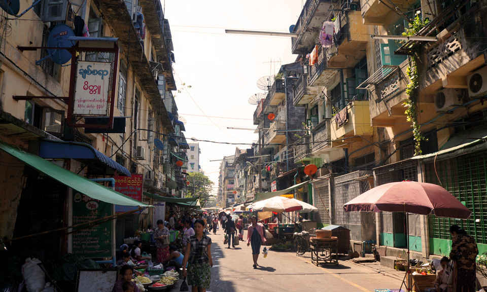 yangon-streets