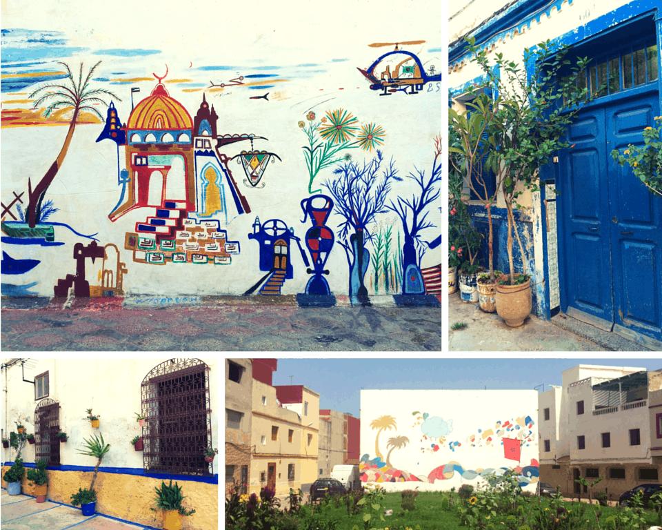 Arts Scene Asilah Morocco