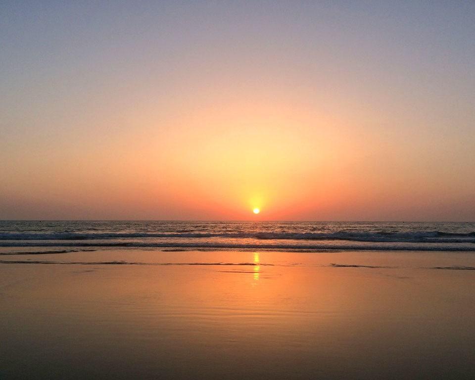 sunset asilah morocco