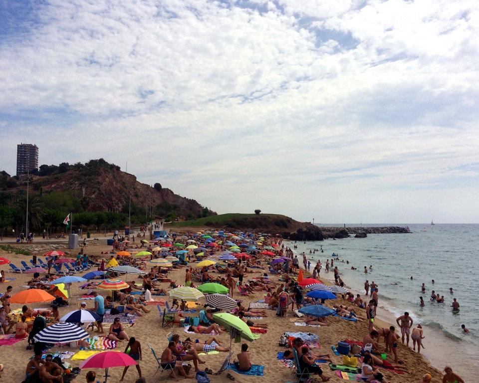 Montgat Beach Barcelona