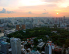 Singapore Sunset Rooftops