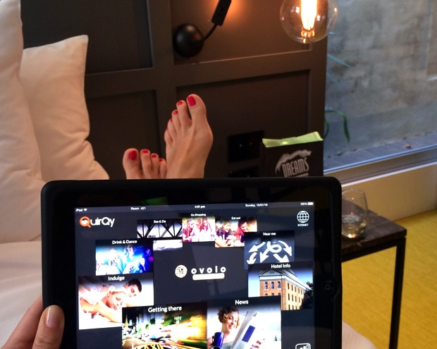 Ovolo 1888 Darling Harbour iPad