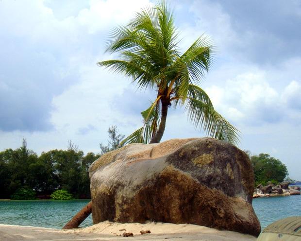 Sentosa Island Beach Singapore