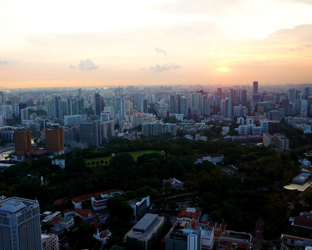Sunset New Asia Rooftop Bar Swissotel