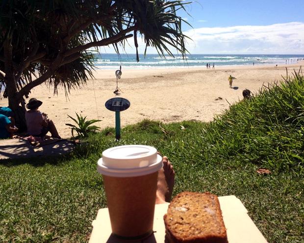 breakfast Wategos Beach Byron Bay