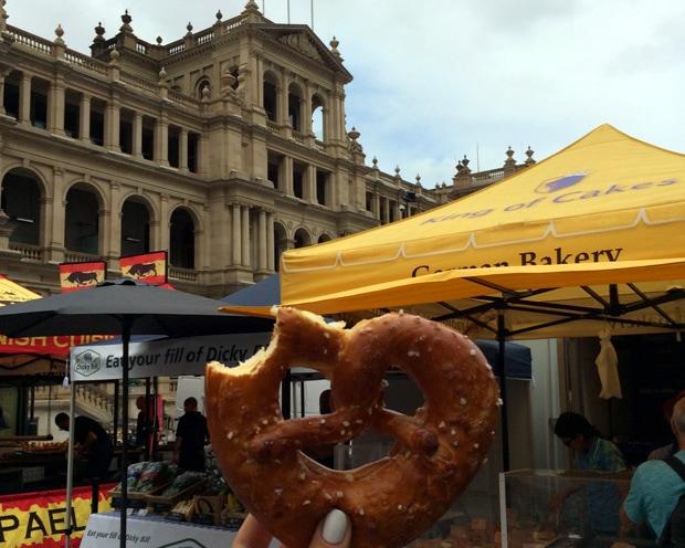 Jan Powers Farmers Market Queen Street Brisbane