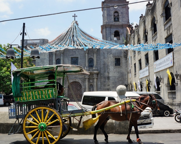 Manila Intramuros horse cariage