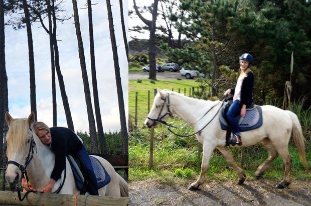 Muriwai Beach Horseride