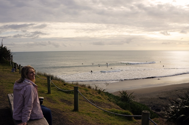 Muriwai Beach Surfers
