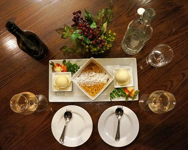 Parnell Quality Hotel Restaurant Desert