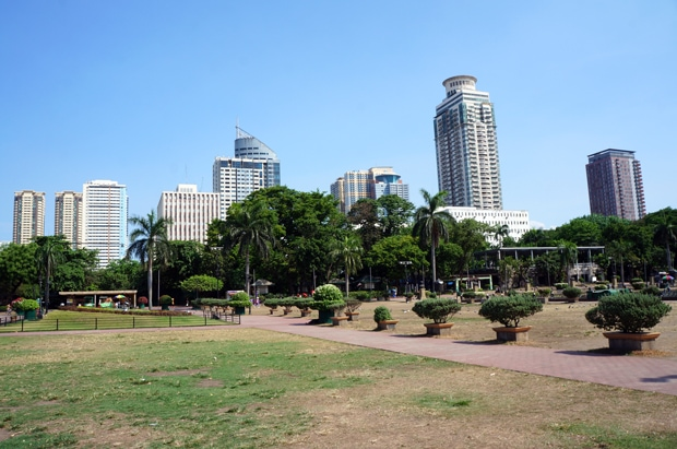 Rizal Park Manila Philippines