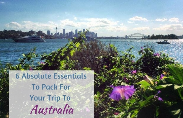 6 Absolute Essentials To Pack For Your Trip To Australia